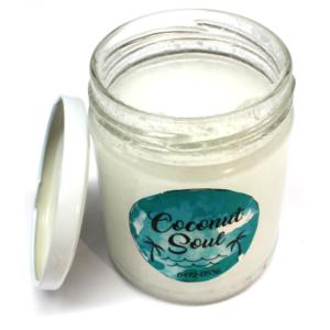 Aceite de coco sin plástico