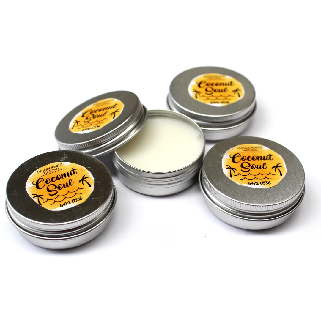Desodorante Natural Coconut Soul