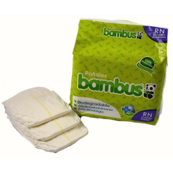 Pañales Biodegradables recién nacido