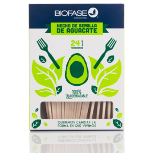 Tenedor Compostable Sin Plástico Costa Rica