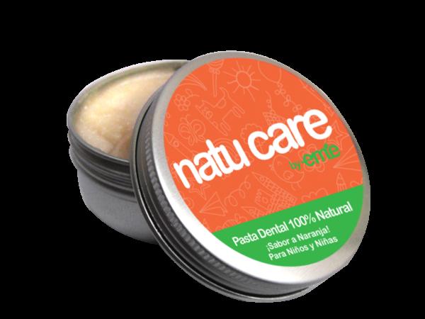 Pasta de dientes ecológica natural