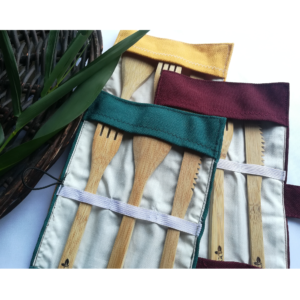 Set Cubiertos de Bambú Costa Rica