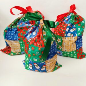 bolsas navideñas reutilizables
