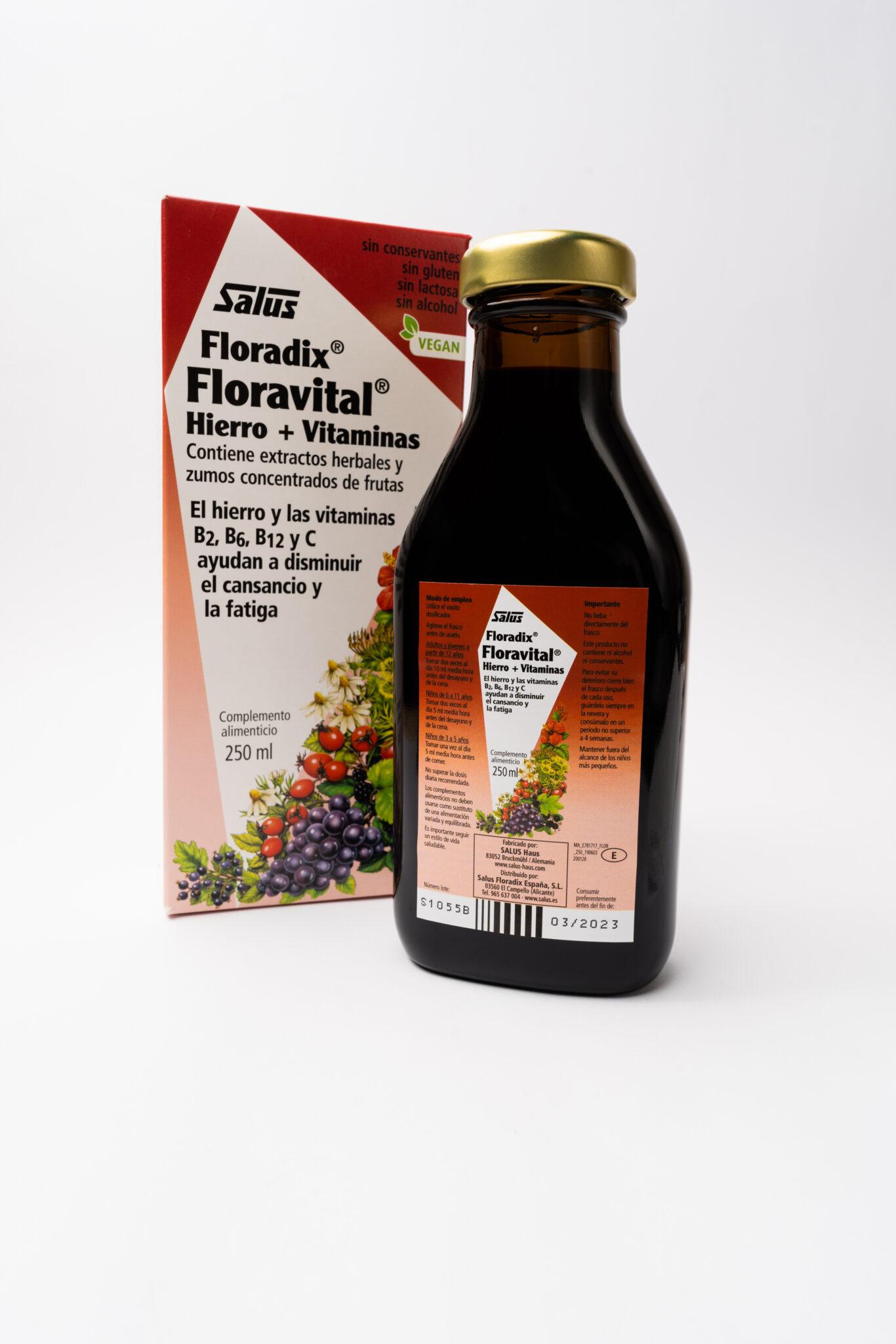 Floradix Floravital Suplemento Nutricional