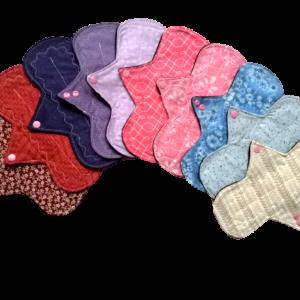 Toallas y Protectores Menstruales Ciclica