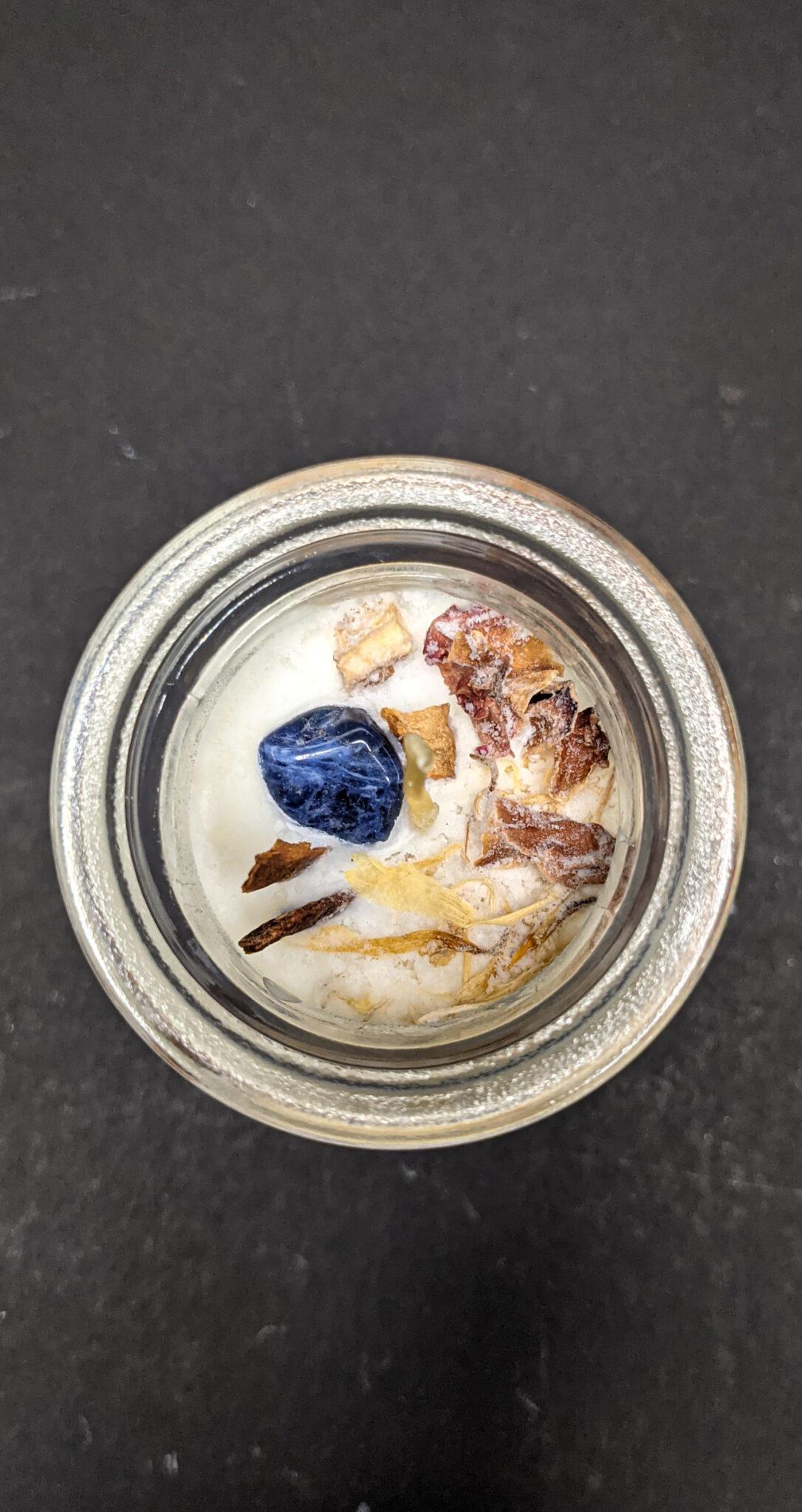 candela de soya