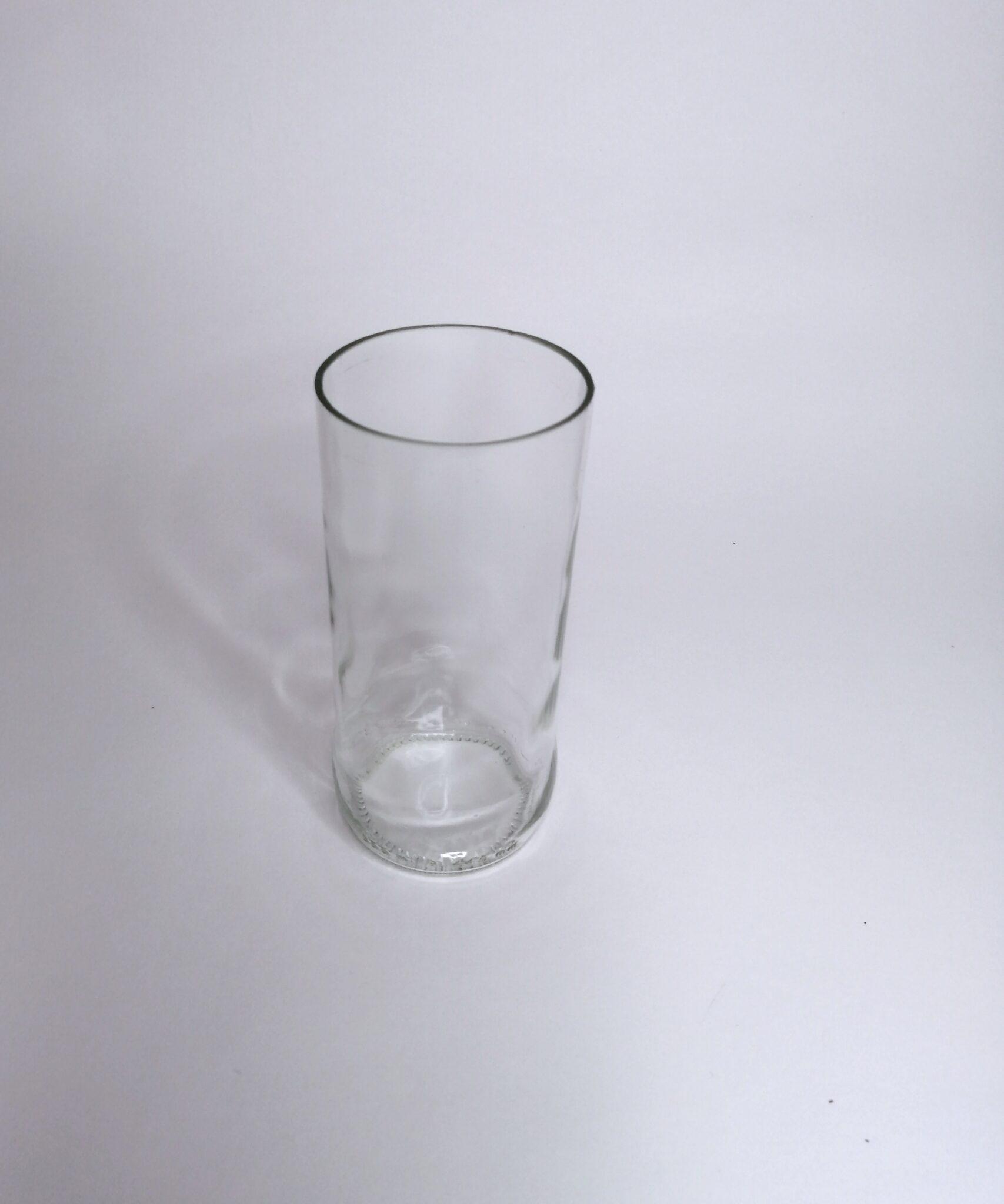 Vasos de Vidrio Reciclado